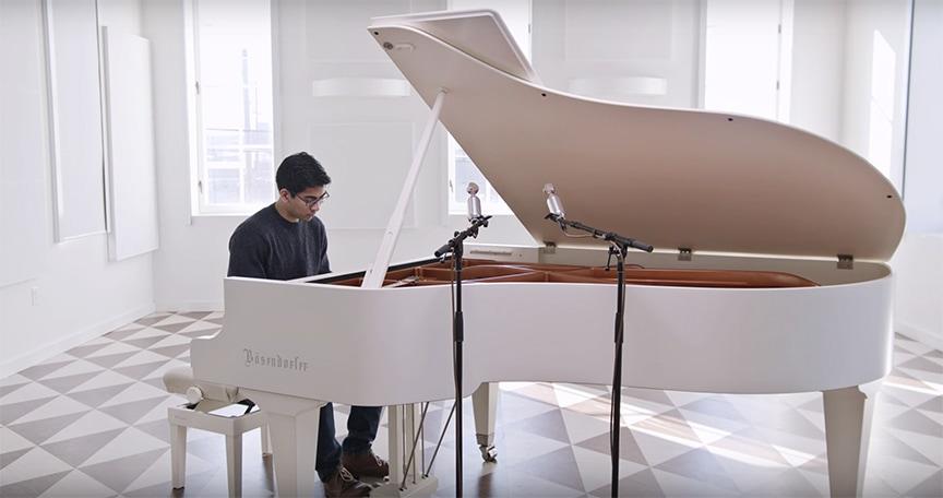 023 BOMBLET: Grand Piano